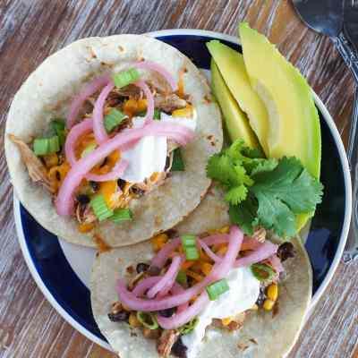 Tacos de Chili de Pollo