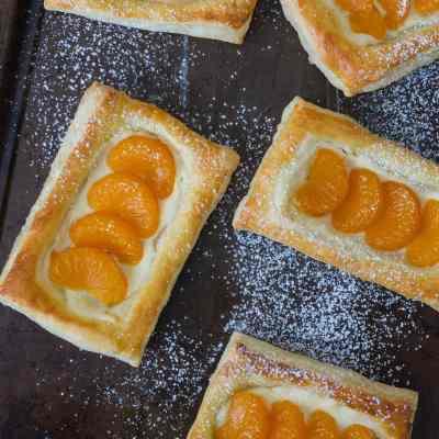 Pastelitos de Mandarina y Queso [Video]