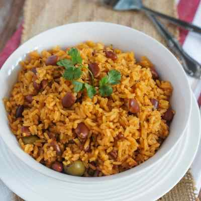 Rice with Beans (Moro de Habichuelas)