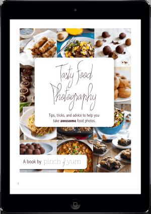 Tasty Food Photography e-Book