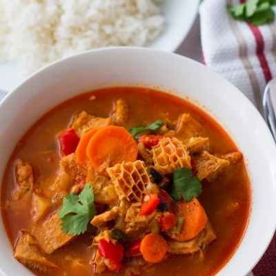 Dominican Style Tripe Stew (Mondongo)
