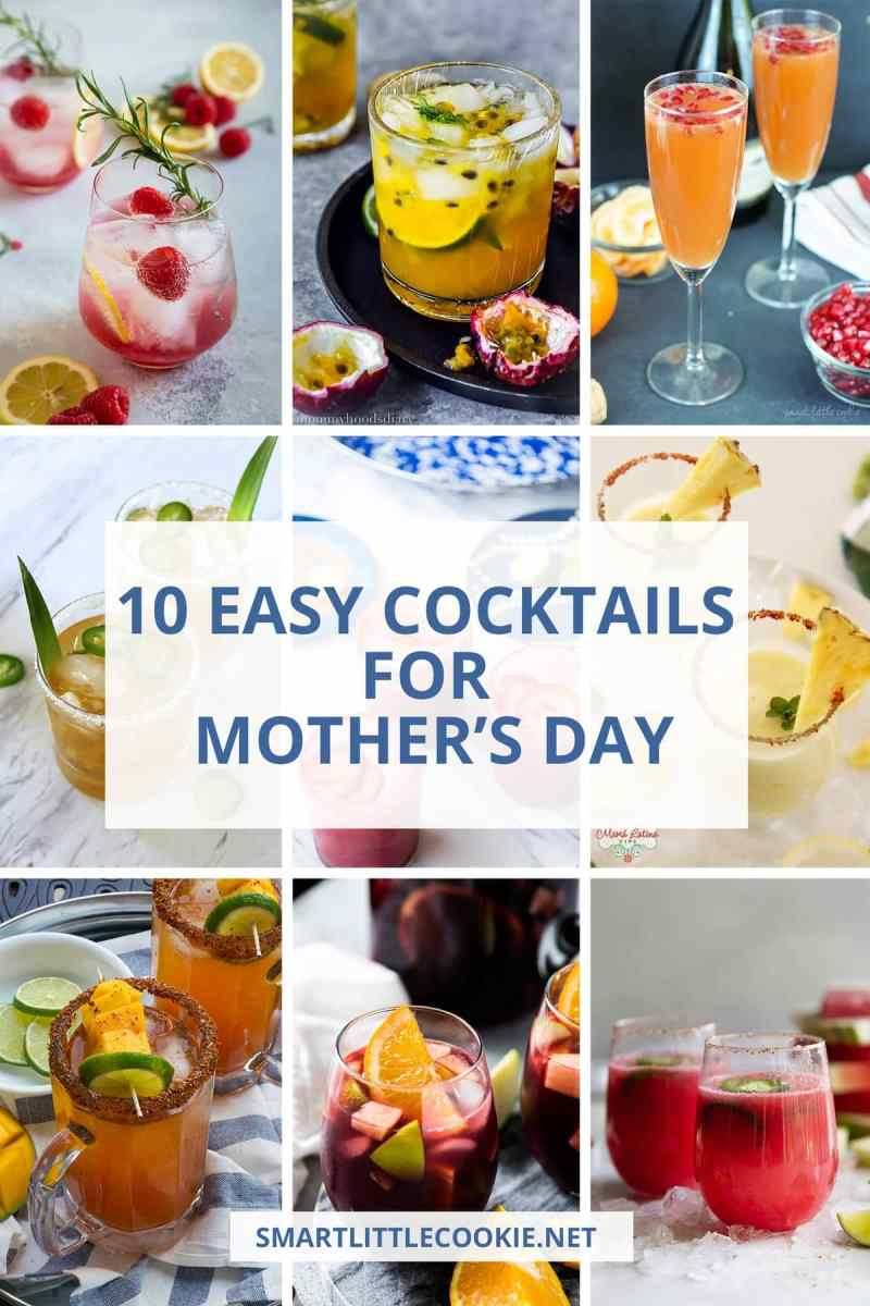 Mother's Day Easy Cocktails
