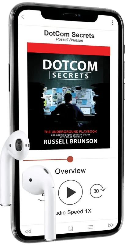 The NEW DotCom Secrets Audiobook By Russell Brunson Shows How To Grow Your Company Online With Sales Funnels