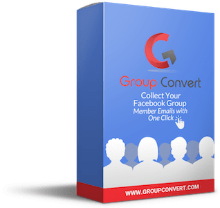 Group Convert is a Google Chrome Extension to collect Facebook Group Member Emails with one click