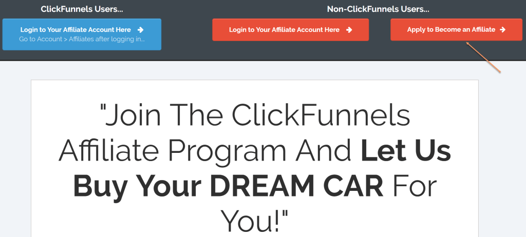 The new ClickFunnels affiliate program requires completion of an application and registration with a payment portal. Their is a tiered commission structure and emphasis on ethics and good practice.