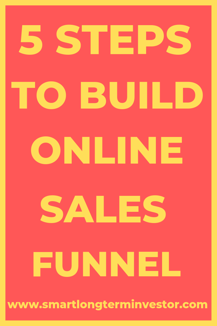 5 Steps to Building Your Online Sales Funnel