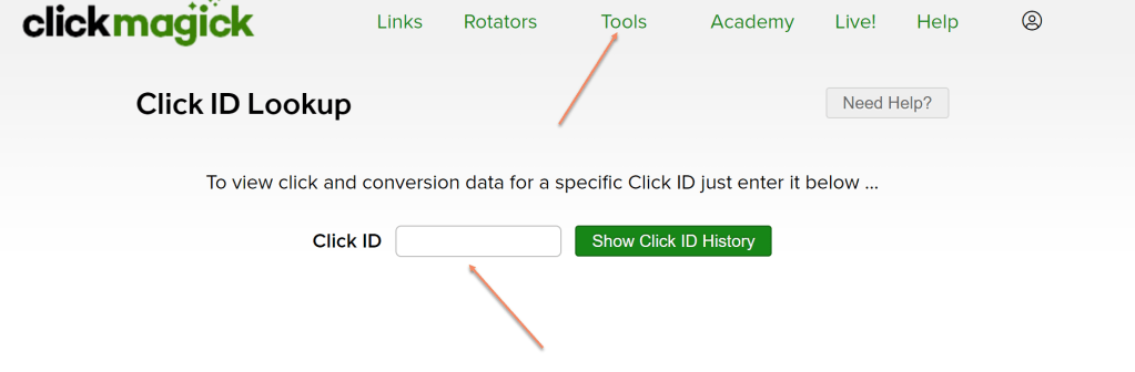 How to track your affiliate links on autopilot with ClickMagick link and funnel tracking software to optimize sales and marketing using ClickFunnels affiliate link as example.