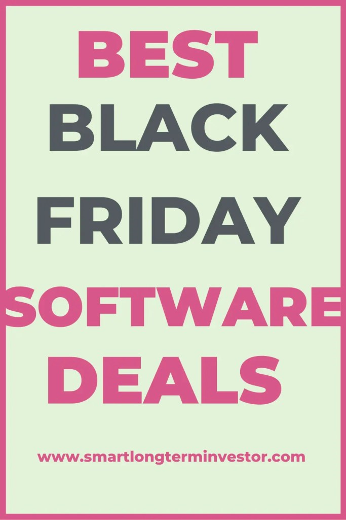 Best Black Friday and Cyber Monday Software Deals For Entrepreneurs and Marketers including email marketing, WordPress hosting and plugin software