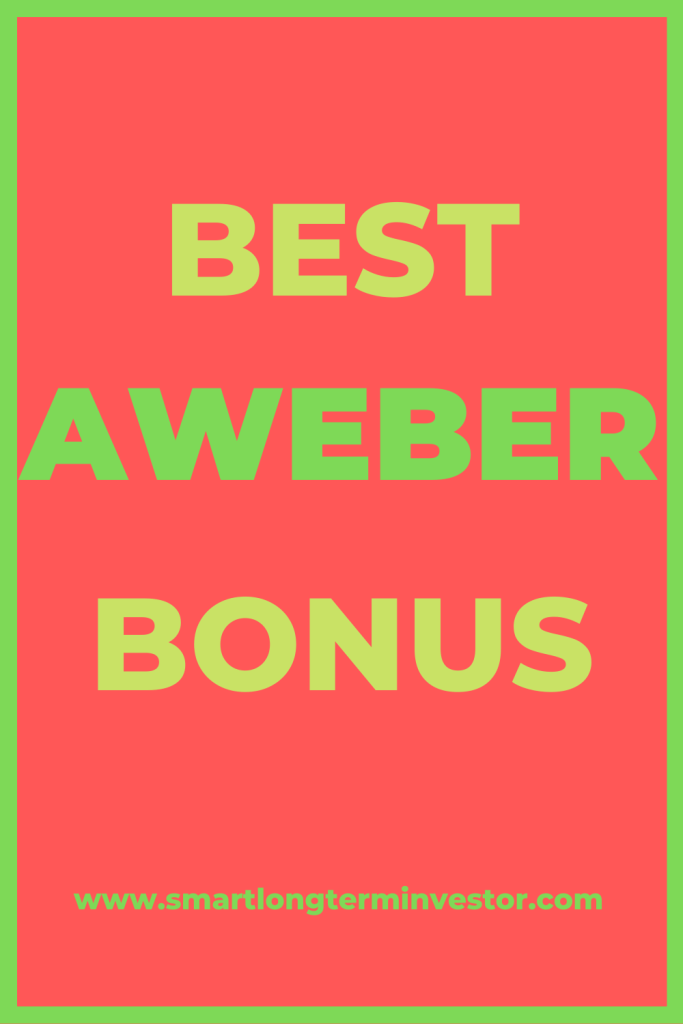 Best Aweber bonus package when you sign up today to the powerful email marketing autotresponder service through my affiliate link