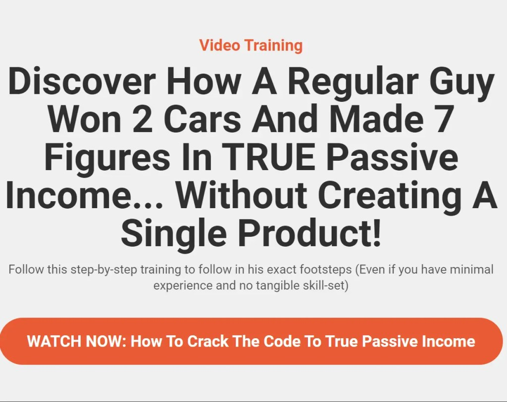 Video Training for Affiliate Secrets 2.0 affiliate marketing course created by Spencer Mecham of Buildapreneur