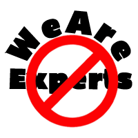 We Are No Experts