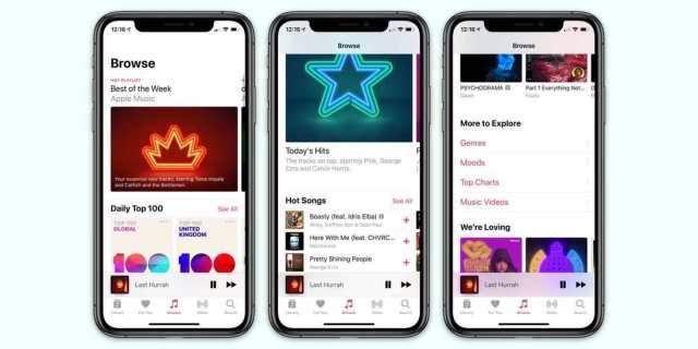 iPhone с Apple Music и 40 милиона песни