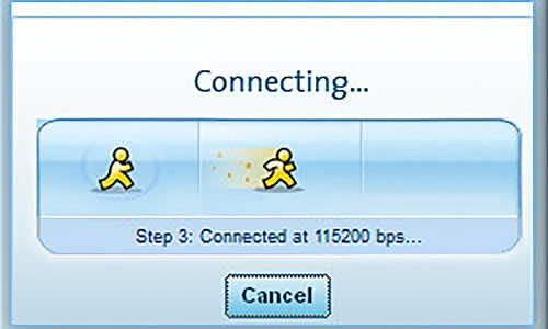 Интернета преди 20 години - тази скорост се равнява на 0.1152 Mbps