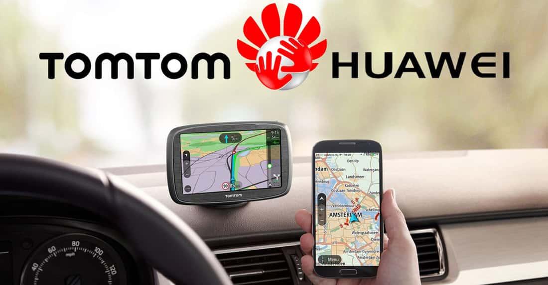 Huawei и TomTom срещу Google Maps