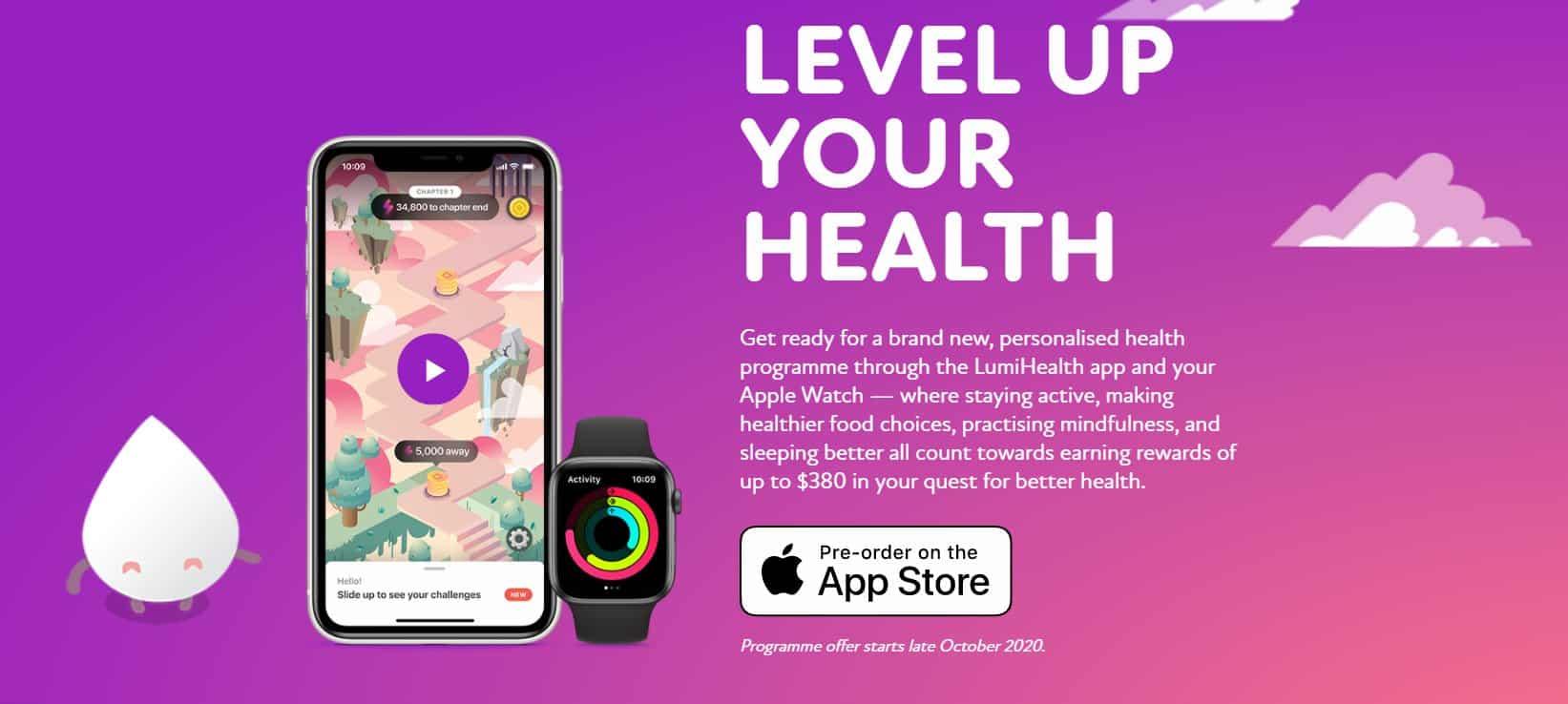 Сингапур награждава хората, които имат здравословен живот и Apple Watch.