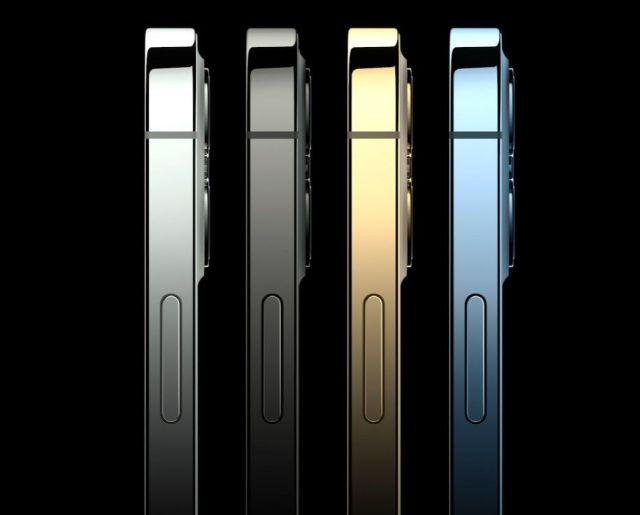 iPhone 12 Pro и iPhone 12 Pro Max цветове