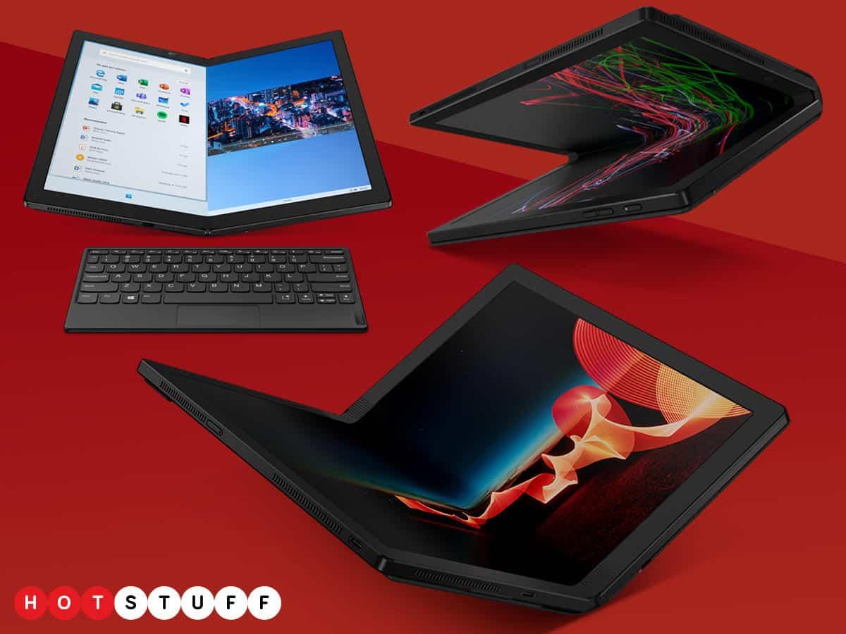 Lenovo ThinkPad X1 Fold – първият сгъваем компютър в света