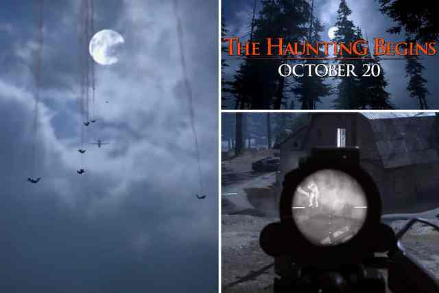 Call of Duty The Haunting of Verdansk Нощен Режим