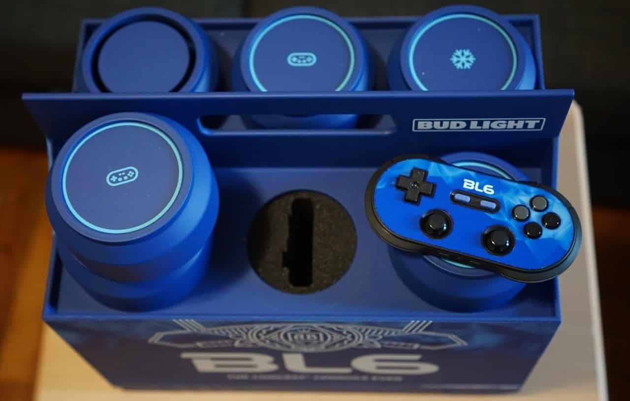 Bud Light направи конзола за видеоигри, която охлажда две бири