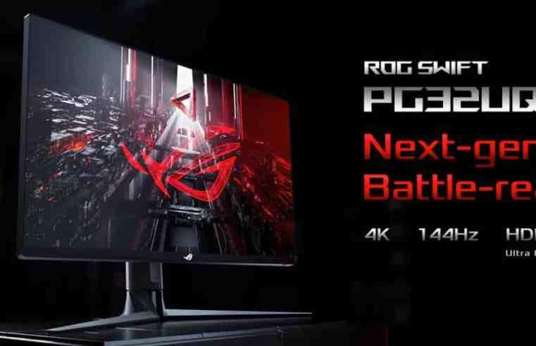 Asus ROG Swift PG32UQ – първият в света 32-инчов 2.1 HDMI геймърски монитор
