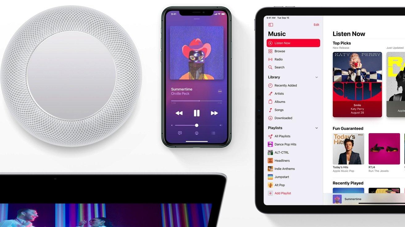 75 милиона песни с аудио без загуби ексклузивно в Apple Music