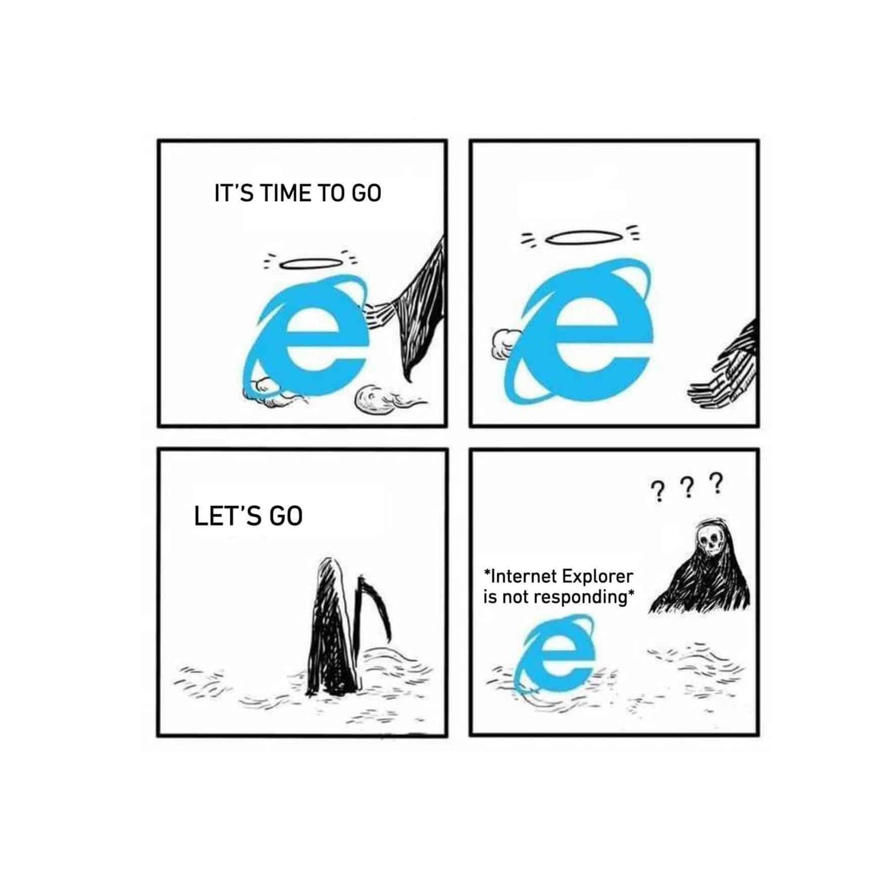 Краят на Internet Explorer наближава