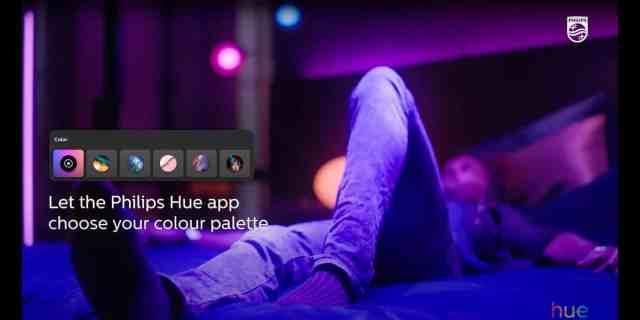 Philips Hue си партнира със Spotify, за да визуализират вашата музика