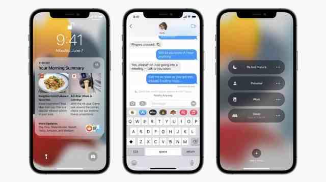Нов Focus режим в iOS 15