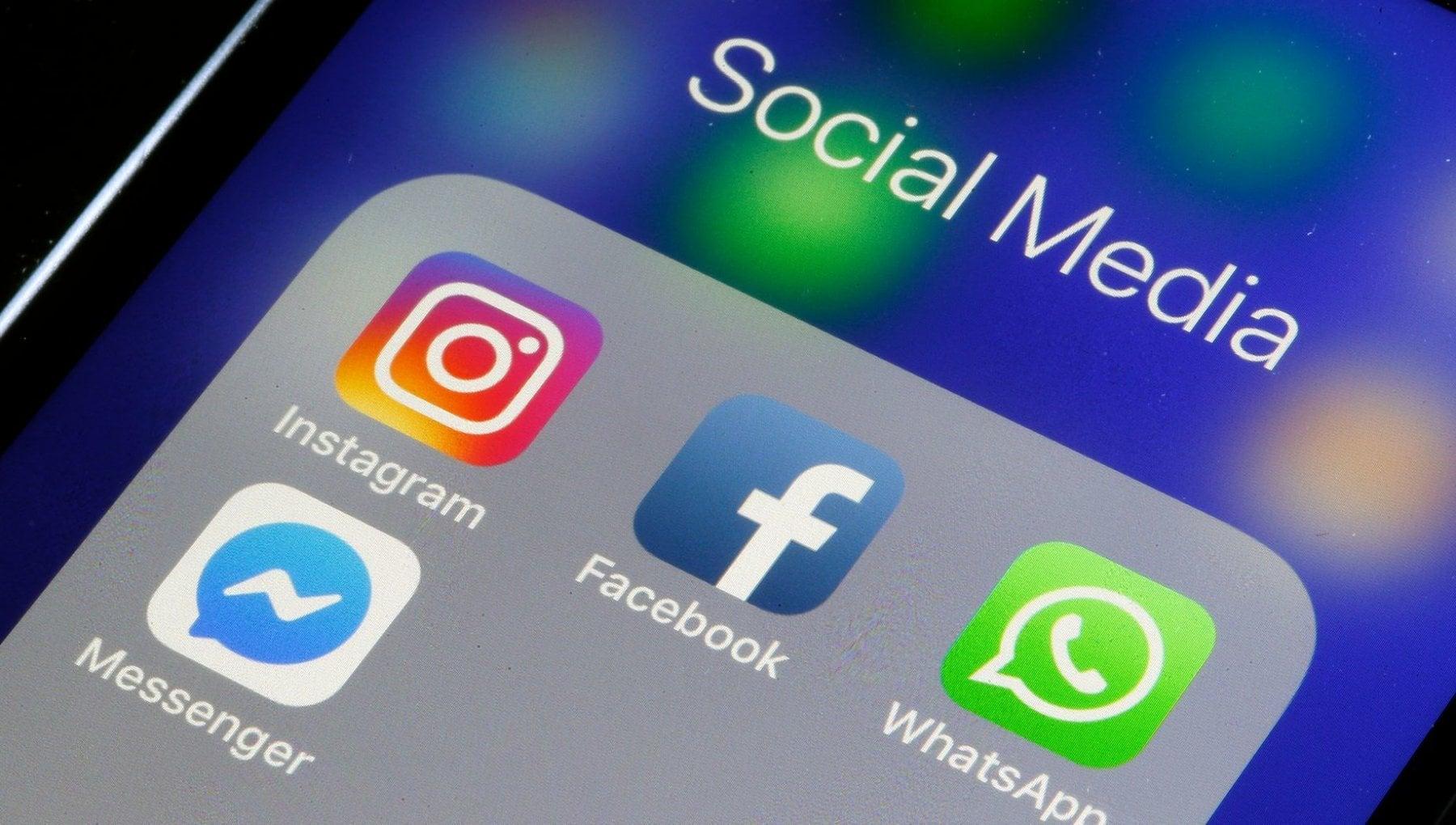Facebook, Messenger, Instagram и WhatsApp не работят