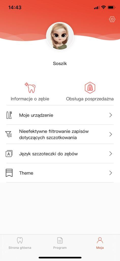 Oclean X pro Aplikacja