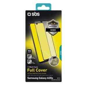 Samsung Galaxy A20s Temperirano Staklo s rubom