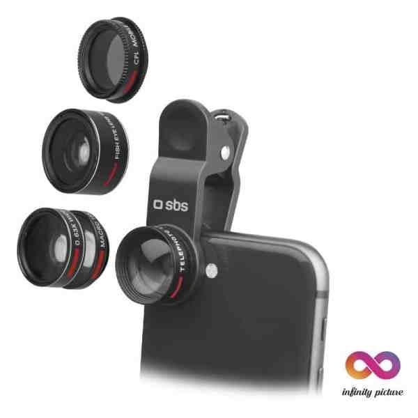 5-u-1 set leća sa kopčom za smartphone INFINITY PICTURE