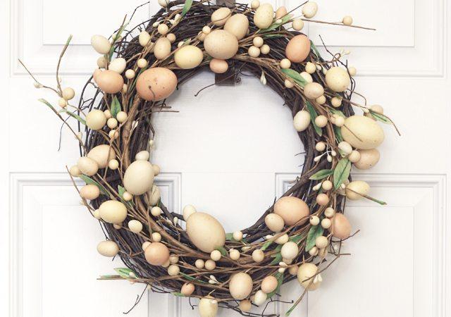Simple Easter Wreath