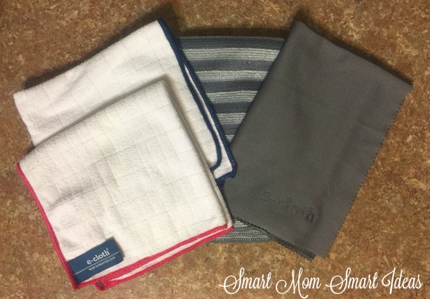 E-cloth perfect for keeping your kitchen clean