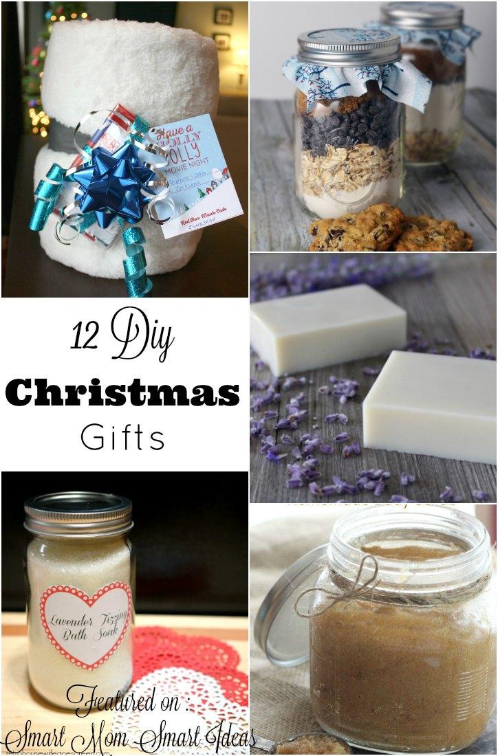 12 DIY Christmas Gift Ideas
