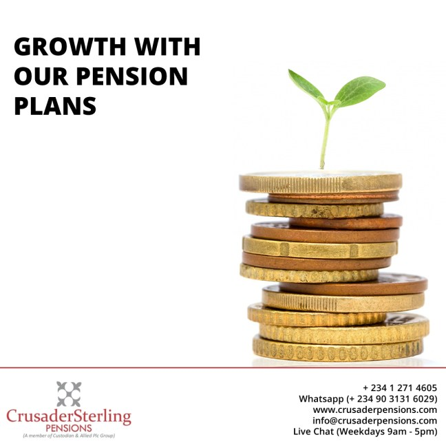 GROWTH WITH OUR PENSION PLANS