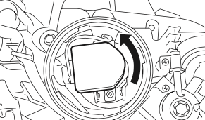 Subaru Impreza 2006 headlight bulb connector
