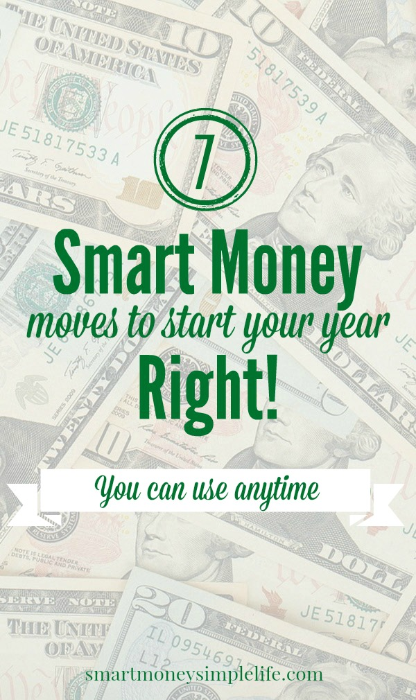 7 smart money moves to start your year right