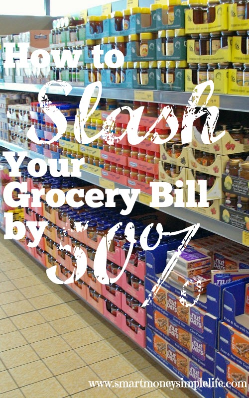slash your grocery bill how to save on food