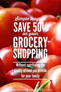 frugal food - save money on groceries