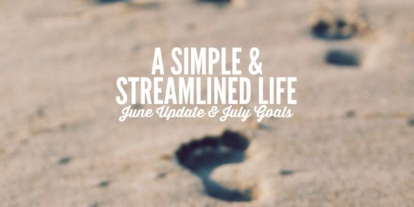 a simple and streamlined life frugal living