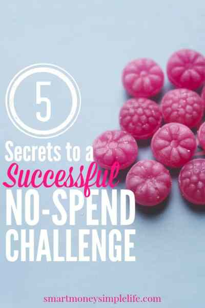Planning a no-spend challenge? Make sure it's a success by following these five tips.