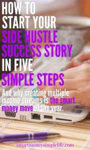 How to start your side hustle success story in five simple steps