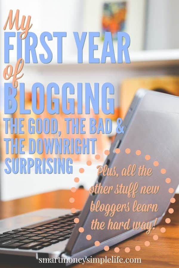 what i learned my first year of blogging