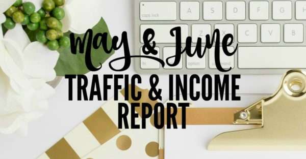 Blog income and traffic report. Making extra money with a self-hosted blog.