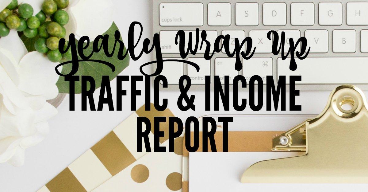 2016 yearly blog wrap up including traffic and income and a lot more.