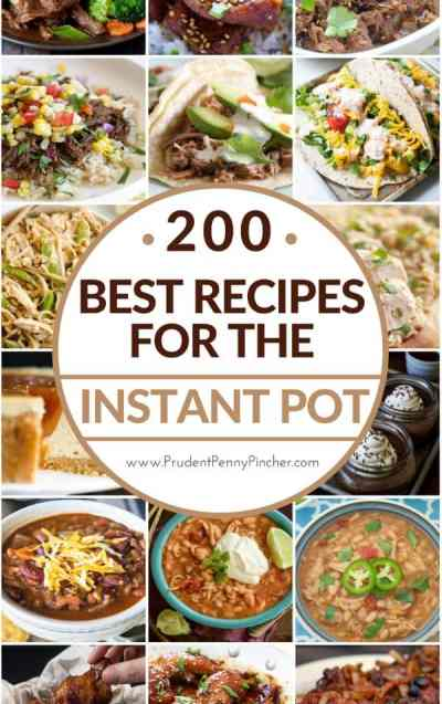 Ultimate meal planning guide for beginners - instant pot recipes