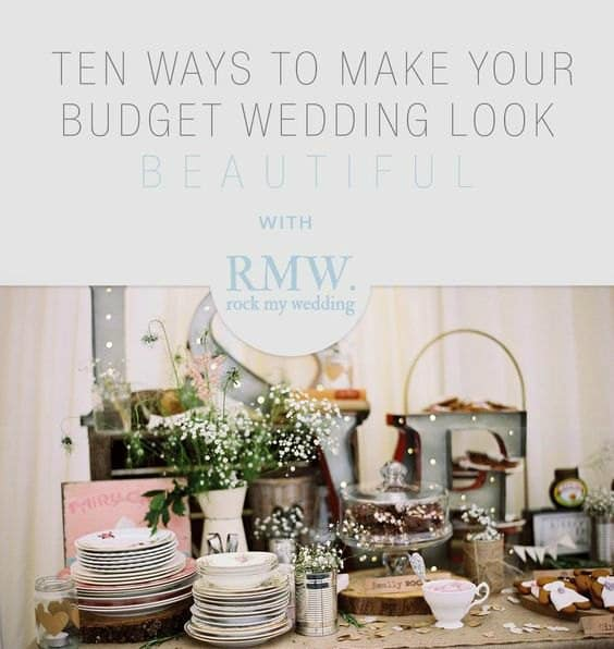 Beautiful budget wedding