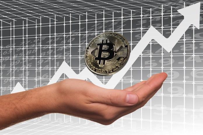 bitcoin has shot up