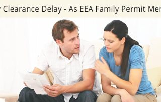 Entry Clearance Delay as EEA Family Permit Member